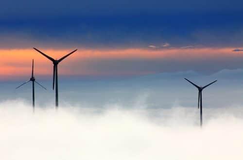 éolienne en mer du Nord