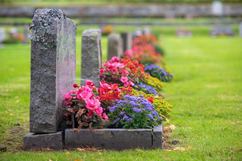 L'entretien des tombes